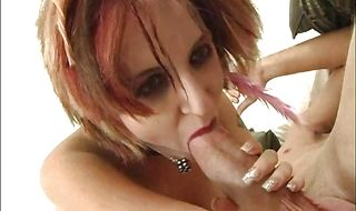 Delectable woman Kayla Shane impales her perfect ass on the cock