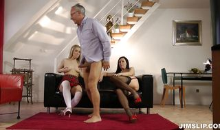 Insatiable diva Lara bends over for a deep pounding