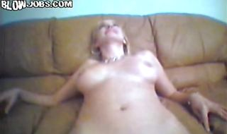Extraordinary blonde floosy Shelly sucks a stiff ramrod