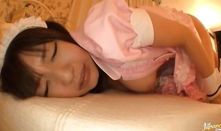 Alluring asian chick Tsubomi needs her wet box slammed by lover