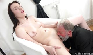 Glorious girlie Lenka C siren gets satisfied to the maximum