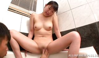 Fresh asian Miku Aono has her twat eaten and plowed with great effort